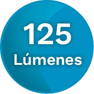 125 Lúmenes