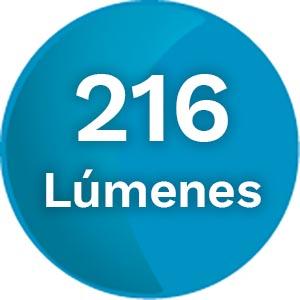 216 Lúmenes